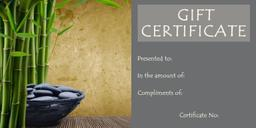 Spa Gift Certificate For Your Spouse